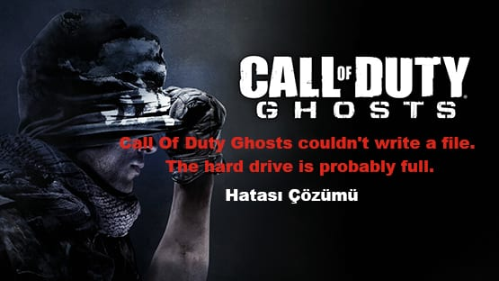 Call Of Duty Ghosts couldnt write a file The hard drive is probably full1