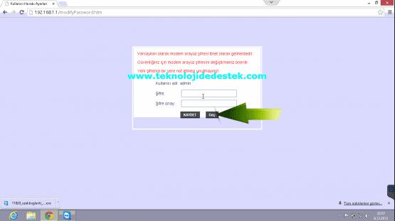 Tp-Link TD864W Kablosuz Modem Kurulumu (3)