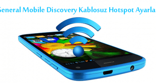General Mobile Discovery Kablosuz Hotspot