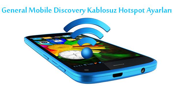 General Mobile Discovery Kablosuz Hotspot