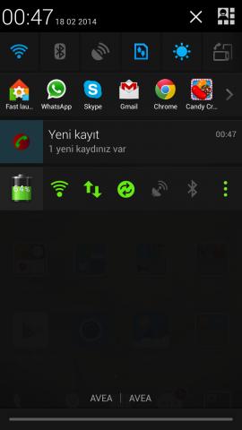 android arama sesi kaydetme