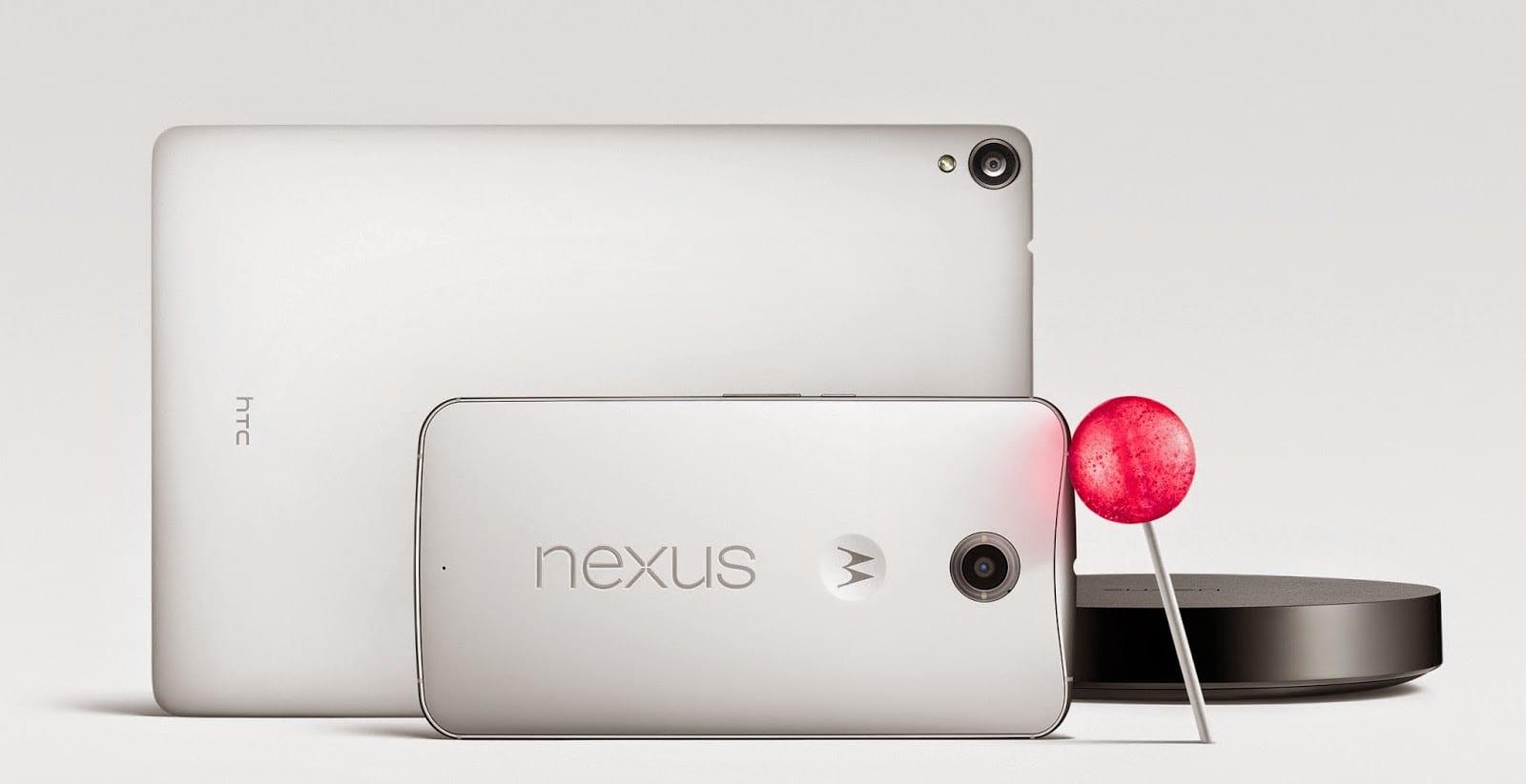 Nexus6-Nexus9-5.0 Lollipop
