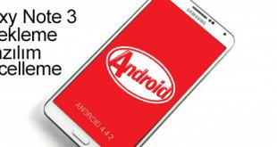 Samsung Note 3 Full Yedek ve Yazılım Yükseltme Nasıl Yapılır