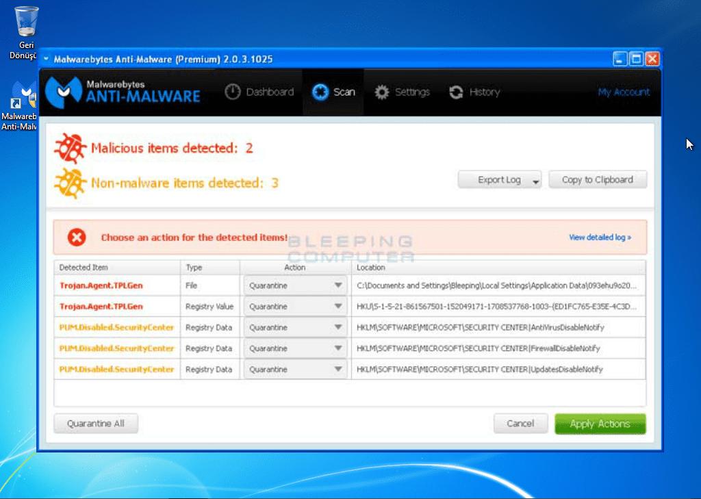 Malwarebytes Anti-Malware ile Rango Win 8 Protection 2014 Kaldırma, Rango Win 8 Protection 2014 Kaldırma, Rango Win 8 Protection 2014 Nasıl Kaldırılır, Rango Win 8 Protection 2014 Nedir, Rango Win 8 Protection 2014 Removal Guide, Rango Win 8 Protection 2014 Remove, Rango Win 8 Protection 2014 Temizleme, Rango Win 8 Protection 2014 Virüs, Virüs Temizleme