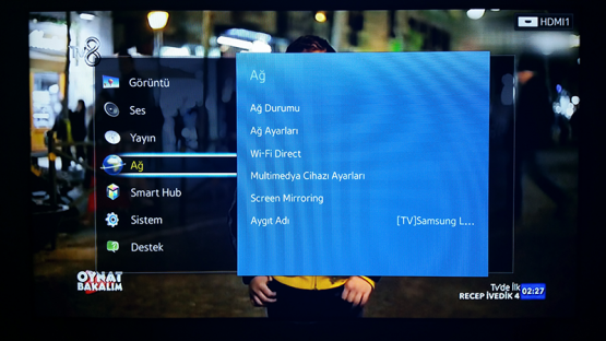 Smart TV Kablosuz Baglanti Ayarlari 2