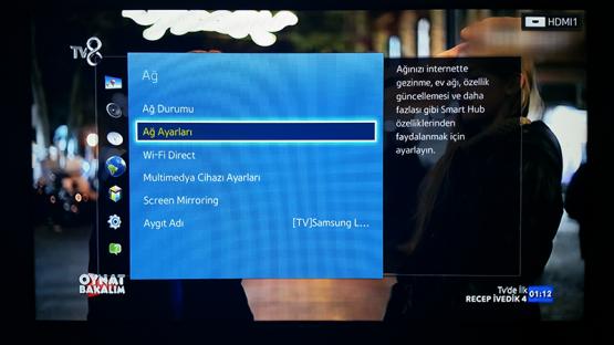 Smart TV Kablosuz Baglanti Ayarlari 4