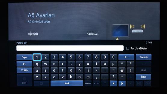 Smart TV Kablosuz Baglanti Ayarlari 6
