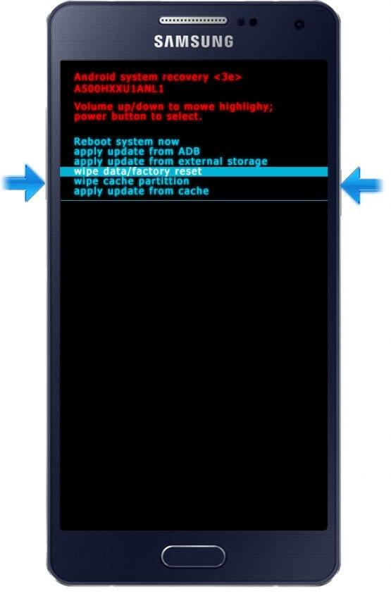 Samsung Galaxy A5 Hard Reset 01