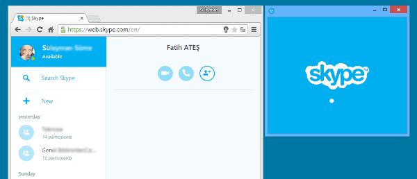 skype tarayıcı sürümü, chrome skype nsıl kullanılır, web için skype nedir, skype web ses ayarları, skype tarayıcılarda nasıl kullanılır,