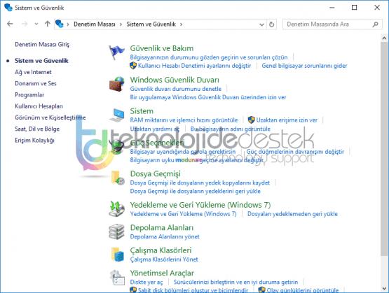 Windows 10 Sistem Geri Yukleme Nasil Yapilir 04