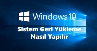 Windows 10 Sistem Geri Yükleme Makalesi için Hazırladığımız Kapak Fotoğrafı.