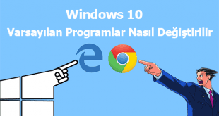 Windows 10 Default Apps Change, Windows 10 Varsayılan Programlar, Nasıl, Windows 10 Varsayılan Uygulamalar, Windows 10 Varsayılan Apps,