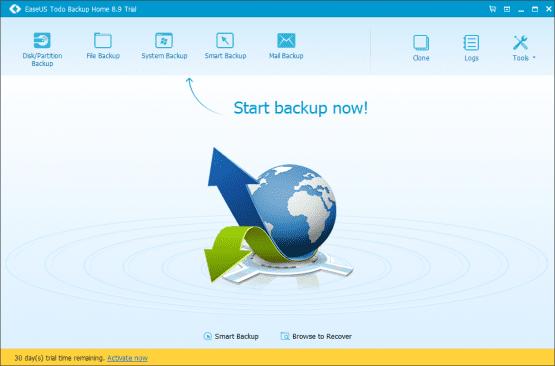 EaseUS Todo Backup, Disk Yedekleme, Klon Disk Oluşturma, Data Backup and Recovery, Otomatik Yedekleme Programı,