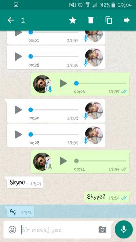 WhatsApp, Yıldızlı Mesajlar, Google Drive, Yedekelme, Sohbet Geçmişi, Okundu, Okunmadı,