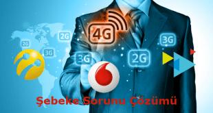 TürkTelekom Avea Turkcell Vodafone Şebeke Sorunu Çözümü