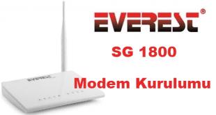 everest modem kurulumu, everest sg 1800 modem şifre değiştirme, everest sg 1800 modem kurulumu, everest sg 1800 kurulum,