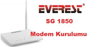 everest sg 1850 modem şifre değiştirme, everest sg 1850 modem kurulumu, everest sg 1850 kurulum, everest modem kurulumu,