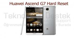 Ascend G7 Hard Reset