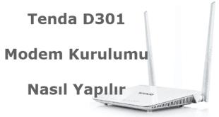 Tenda d301 modem kurulumu, tenda d301 kurulum, tenda d301 nasıl, tenda d301 arayüz şifresi, tenda modem kurulumu,