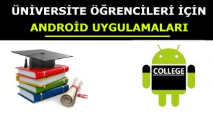 Üniversite Öğrencileri İçin En İyi 10 Android Uygulamaları