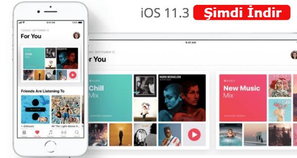 ios 11.3 ne zaman yayınlanacak, ios 11.3 güncellemesi, ios 11.3 wifi sorunu, ios 11.3 pil sağlığı, ios 11.3 yenilik, iOS 11.3 Yayına Girdi,
