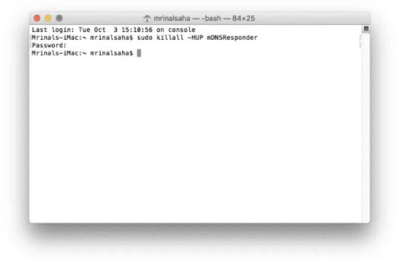 DNS Önbelleği Temizleme