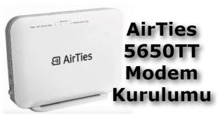airties 5650tt, airties 5650tt modem kurulumu, airties 5650tt modem şifresi, airties 5650 tt modem kurulumu,