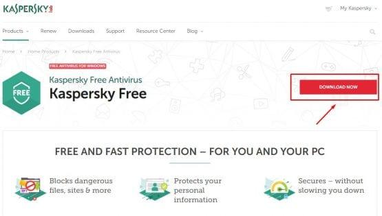 Bilgisayar için En iyi Ücretsiz Antivirüs Programı Kaspersky