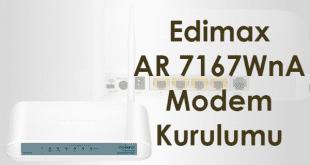 edimax ar 7167wna modem kurulumu