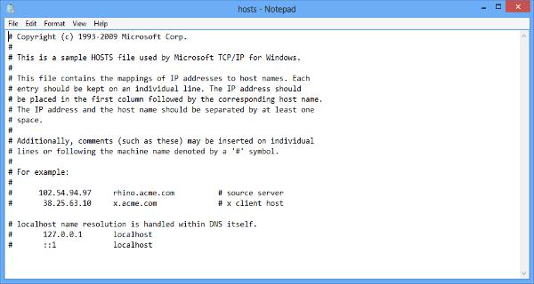 hosts dosyası indir, hosts dosyası değiştirme, hosts dosyası nasıl değiştirilir, host dosyası nerede,