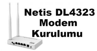 modem kurulumu, netis dl4323 modem kurulumu, netis dl4323d modem kurulumu, netis dl4323 kurulum, netis dl4323 modem şifresi,