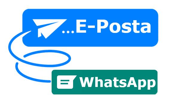 whatsapp mail gönderme, whatsapp mesajlarını e postaya gönderme, whatsapp sohbet gönderme, whatsapp konuşmasını e-posta ile gönderme,