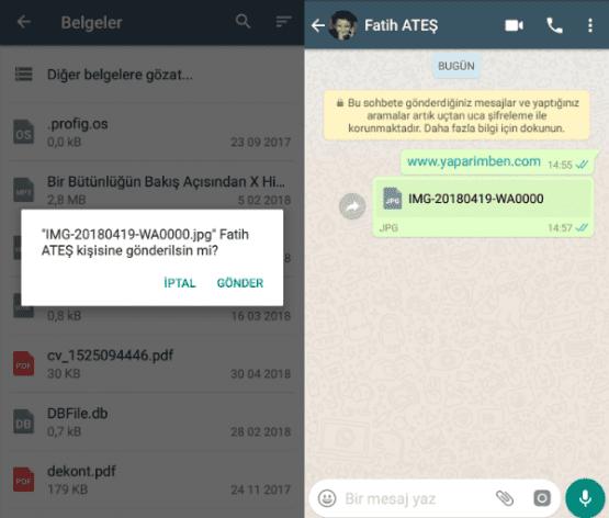 whatsapp ta orjinal kalitede fotoğraf gönderme, whatsapp orjinal fotoğraf gönderme, whatsapp kaliteyi bozmadan fotoğraf gönderme, whatsapp resimleri bozmadan gönderme,