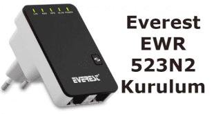everest ewr-523n2 kurulum, repeater everest ewr-523n2, repeater kullanımı, everest ewr-523n2 v2,