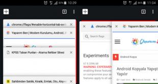 android chrome yan sekme özelliği, android chrome ayarları, android için chrome'a yan sekme ekleme, chrome yan sekme nasıl eklenir android,