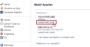 Facebook Telefon Numarası Kaldırma Nasıl Yapılır: Facebook'ta eski telefon no mu kayıtlı yada numara değişikliği mi yapmak istiyorsunuz?