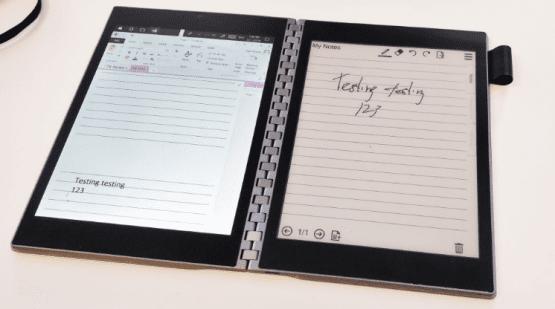 e-paper, e-kağıt, çift ekranlı notebook, intel tiger rapids, tiger rapids,