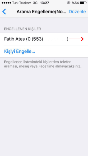 iPhone numara engelleme nasıl kaldırılır, iphone engellenen numara nasıl kaldırılır, iphone engellenen numaralar nasıl kaldırılır.