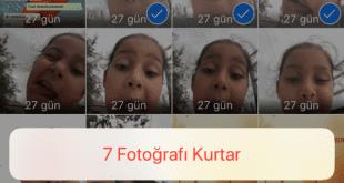 iPhone Silinen Fotoğrafları Geri Getirme: Bir fotoğrafı iPhone'dan yanlışlıkla silmek olasıdır. Silinen fotoğrafları kurtarma aşağıdadır.