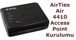 Airties air 4410 access point kurulum nasıl yapılır resimli anlatım.
