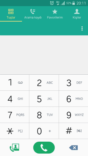 Android arama bekletme veya Android çağrı bekletme