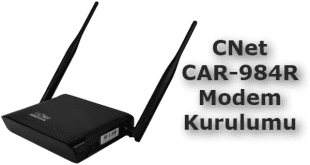 cnet car-984r modem kurulumu, cnet car-984r kurulum, cnet car 984r kurulumu, cnet car-984r, modem kurulumu,