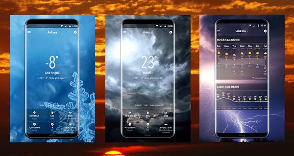 Android için en iyi hava durumu uygulaması, en iyi hava durumu uygulaması, en iyi hava durumu uygulaması android.