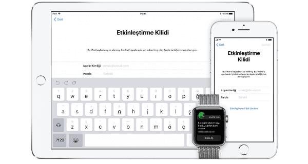 iphone etkinleştirme kilidi, etkinleştirme kilidi, iphone etkinleştirme, apple kimliği unuttum etkinleştirme yapamıyorum.