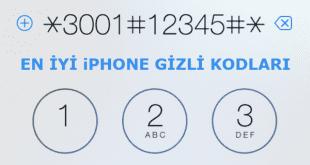 iPhone gizli kodları iphone kodları, iphone gizli kodlar, iphone gizli menü kodu.