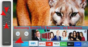 Samsung Smart TV Sorunları ve Sıfırlama Adımları