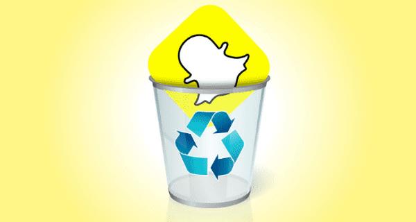 Snapchat hesabı silme, snapchat hesap silme, snapchat silme.