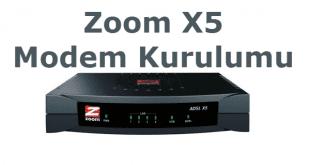 Zoom X5 Modem Kurulumu Nasıl Yapılır