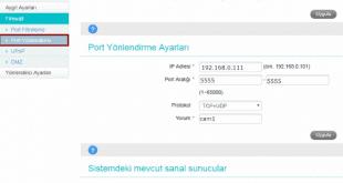 Türk Telekom 4.5G Mobil Modem Port Açma Nasıl Yapılır