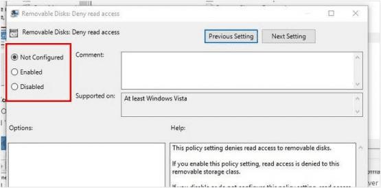 Windows 10 usb portları devre dışı bırakma